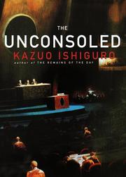 Cover art for THE UNCONSOLED