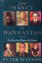 Cover art for FROM MANET TO MANHATTAN