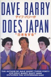 Cover art for DAVE BARRY DOES JAPAN