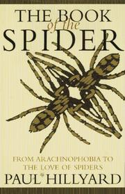 Cover art for THE BOOK OF THE SPIDER