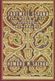 FAREWELL ESPA•A by Howard M. Sachar