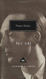 Cover art for PALE FIRE