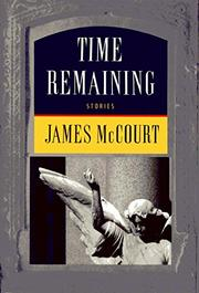 TIME REMAINING by James McCourt
