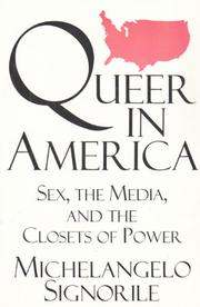 QUEER IN AMERICA by Michelangelo Signorile
