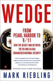 Book Cover for WEDGE