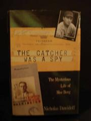 Cover art for THE CATCHER WAS A SPY