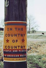 Book Cover for IN THE COUNTRY OF COUNTRY