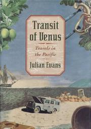 TRANSIT OF VENUS by Julian Evans