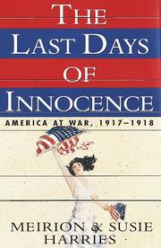 THE LAST DAYS OF INNOCENCE by Meirion Harries