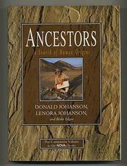 ANCESTORS by Donald Johanson