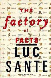 Book Cover for THE FACTORY OF FACTS