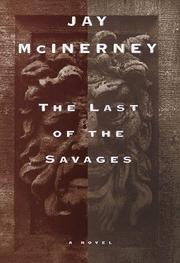 Cover art for THE LAST OF THE SAVAGES
