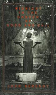 Cover art for MIDNIGHT IN THE GARDEN OF GOOD AND EVIL