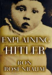 Cover art for EXPLAINING HITLER