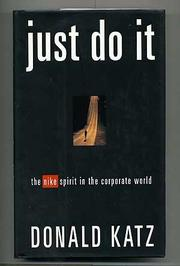 JUST DO IT by Donald Katz