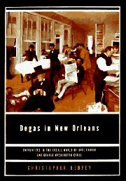 Cover art for DEGAS IN NEW ORLEANS