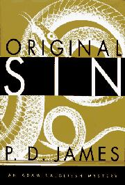 ORIGINAL SIN by P.D. James