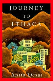 JOURNEY TO ITHACA by Anita Desai