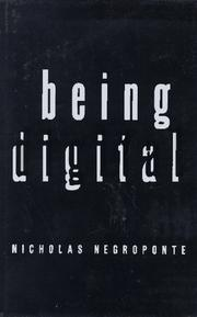 Cover art for BEING DIGITAL
