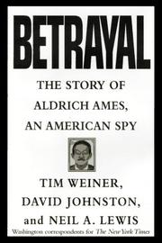 BETRAYAL by Tim Weiner