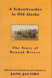Book Cover for A SCHOOLTEACHER IN OLD ALASKA