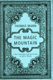 Book Cover for THE MAGIC MOUNTAIN