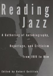 Cover art for READING JAZZ