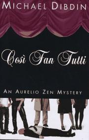 Book Cover for COSI FAN TUTTI