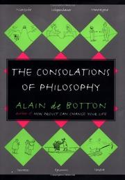 Book Cover for THE CONSOLATIONS OF PHILOSOPHY