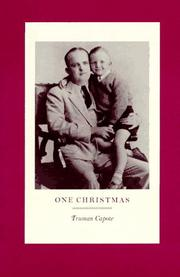 Book Cover for ONE CHRISTMAS