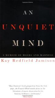 Cover art for AN UNQUIET MIND