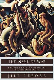 Book Cover for THE NAME OF WAR