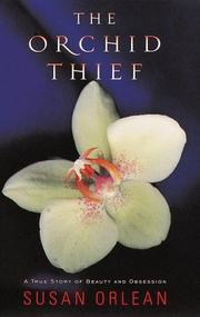 Cover art for THE ORCHID THIEF