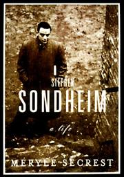 Cover art for STEPHEN SONDHEIM