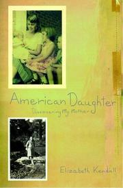 Book Cover for AMERICAN DAUGHTER