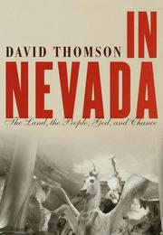 Cover art for IN NEVADA
