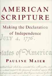 Cover art for AMERICAN SCRIPTURE