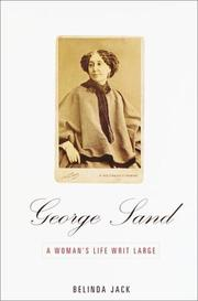 Cover art for GEORGE SAND