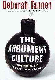 Book Cover for THE ARGUMENT CULTURE