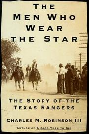 THE MEN WHO WEAR THE STAR by III Robinson