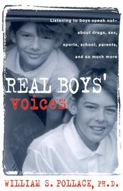 Cover art for REAL BOYS' VOICES