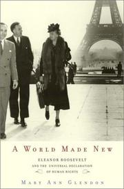 Cover art for A WORLD MADE NEW