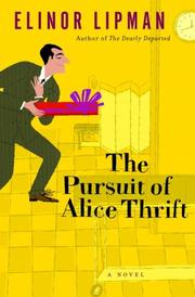 Cover art for THE PURSUIT OF ALICE THRIFT