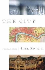Cover art for THE CITY