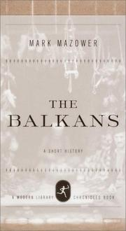 Book Cover for THE BALKANS