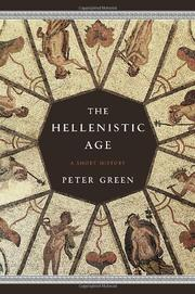 Cover art for THE HELLENISTIC AGE
