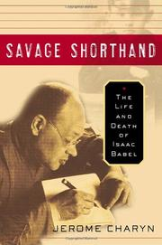 Cover art for SAVAGE SHORTHAND