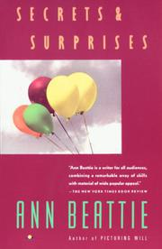 SECRETS AND SURPRISES by Ann Beattie