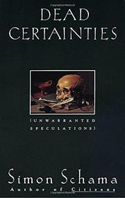 Cover art for DEAD CERTAINTIES