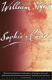 Cover art for SOPHIE'S CHOICE